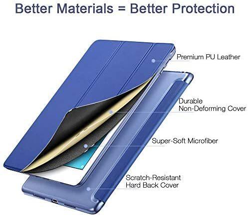 ESR iPad Mini 5 2019 ケース 軽量 薄型 スマート カバー 耐衝撃 傷防止 クリア ハード 背面 ケース 三つ折り スタンド オートスリープ_画像6