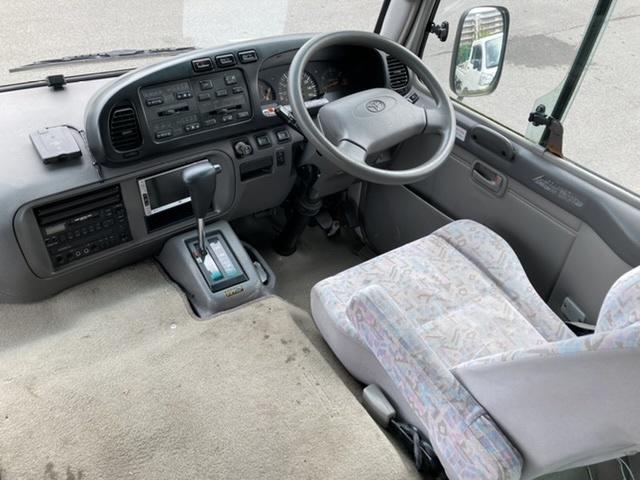 「H18 トヨタ コースター GX スイングドア ナビ ETC 29人 XZB50 日野 リエッセⅡ AT 検R4.7 過走行 絶好調」の画像3
