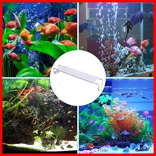 2F 新品 39個LED 10W 50~60cm対応 熱帯魚/観賞魚飼育・水草育成・水槽照明用 ledアクアリウムライト 在庫限り 省エネ 水槽ライト 長寿命_画像7
