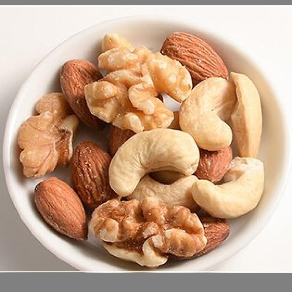 新品ミックスナッツ ロースト / 1kg TOMIZ/cuoca(富澤商店) 素焼き 無塩 無添加 オイルなし 715M_画像3