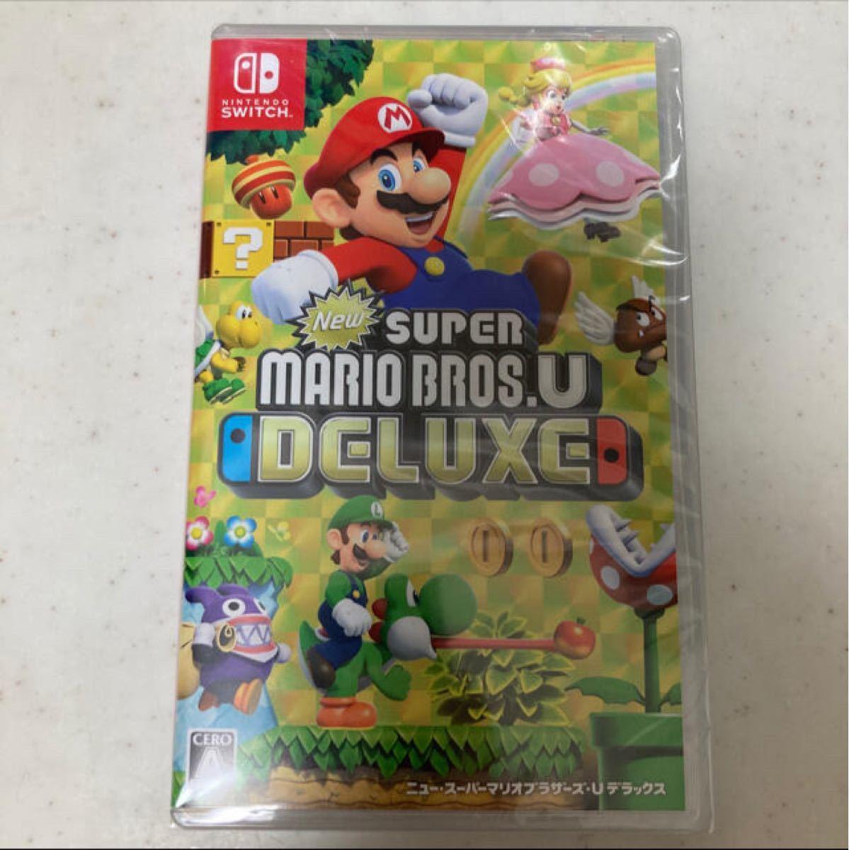 Nintendo Switch NewスーパーマリオブラザーズUデラックス ソフト パッケージ版  ニンテンドースイッチ
