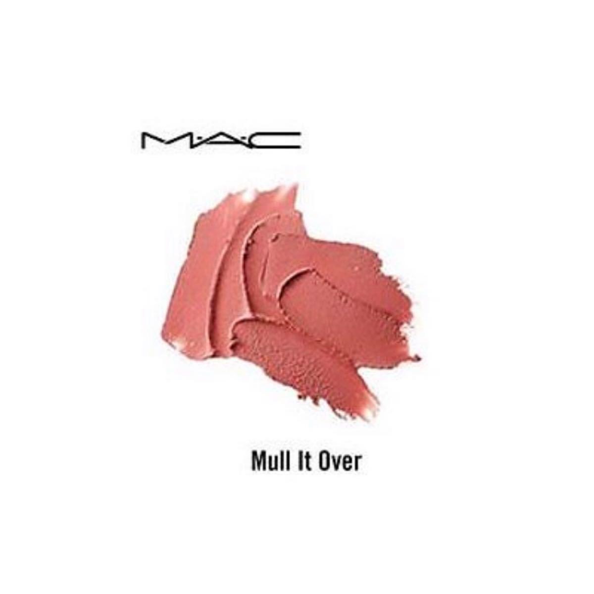 MAC/【MULL IT OVER】パウダーキス リップスティック 口紅 マック マルイットオーバー