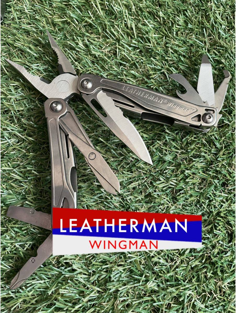 LEATHERMAN WINGMAN 多少の難あり レザーマン ウイングマン マルチツール マルチプライヤー ツールナイフ