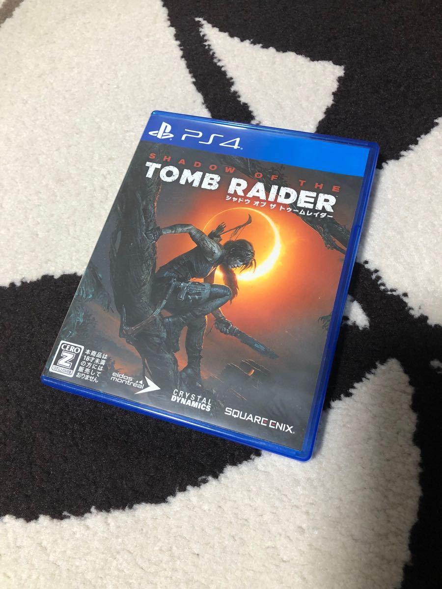 PS4  シャドウオブザトゥームレイダー SHADOW  OF  THE  TOMB  RAIDER  人気 PS4ソフト