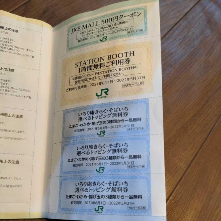 JR東日本 東日本旅客鉄道 株主サービス券_画像7