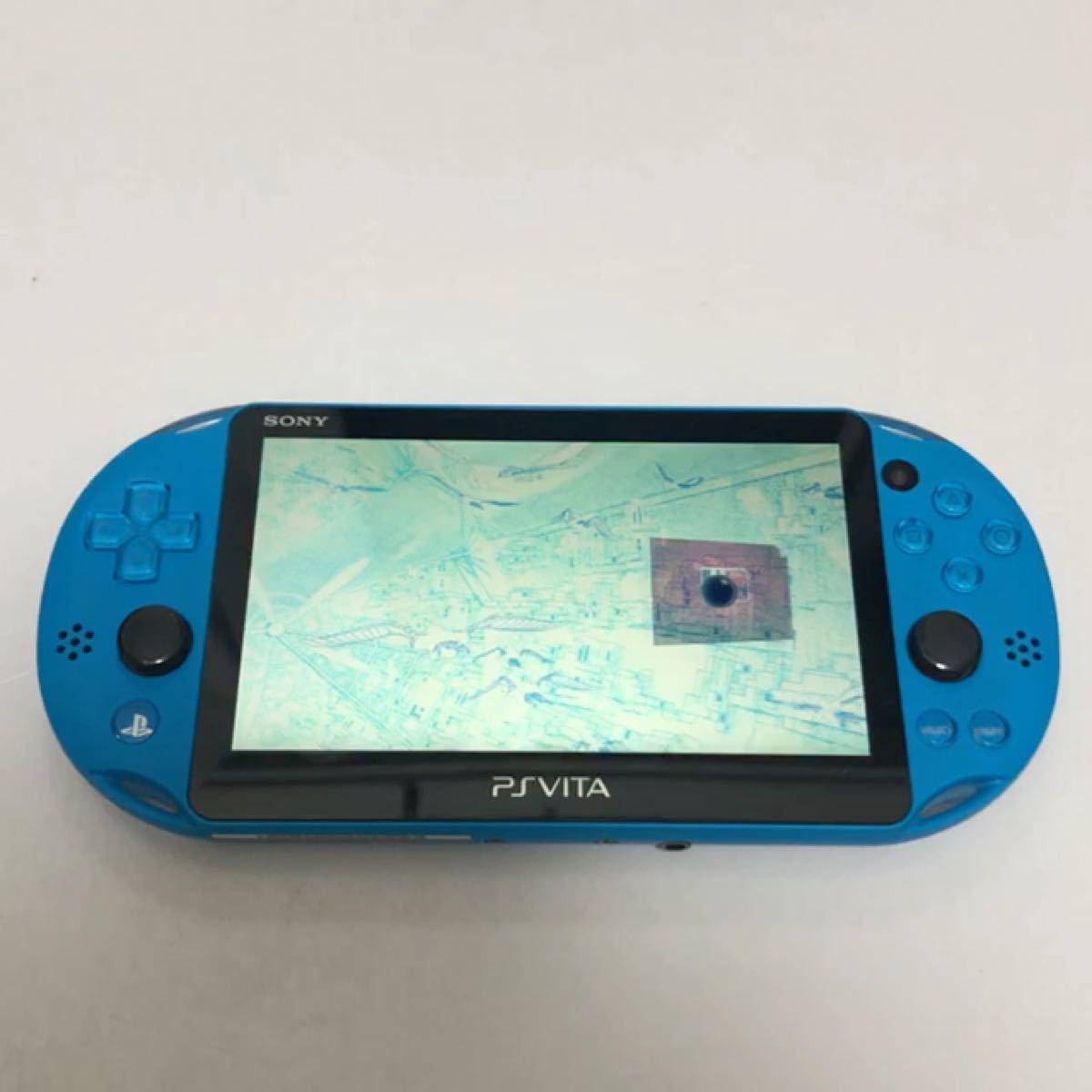 SONY PlayStation Vita PCH-2000 Wi-Fiモデル アクアブルー