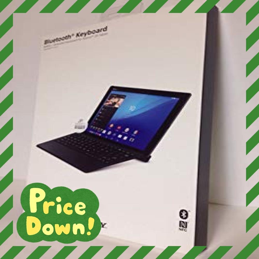 ブラック ソニー BKB50 Xperia Z4 Tablet用Bluetoothキーボード_画像1