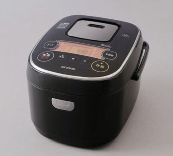 炊飯器 IH アイリスオーヤマ ブラック