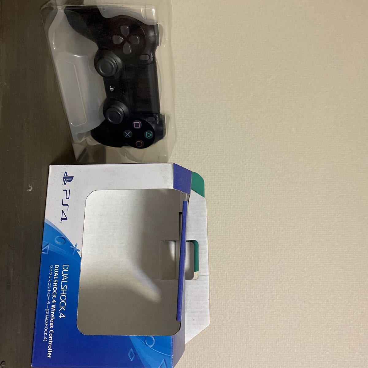 PS4 ワイヤレスコントローラー(DUALSHOCK4)ブラック CUH-ZCT2J 純正