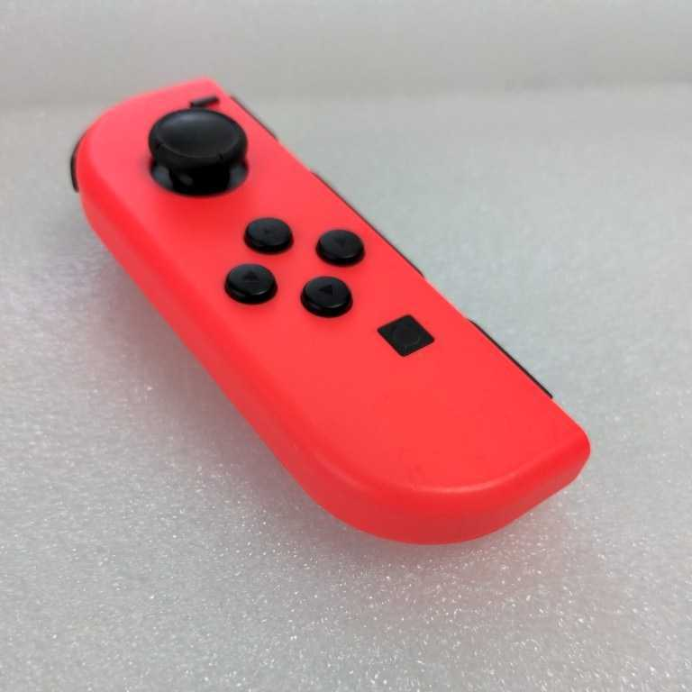 ★動作確認済み★Nintendo Switch ジョイコン ネオンレッドL左のみ ニンテンドースイッチ Joy-Con AO5