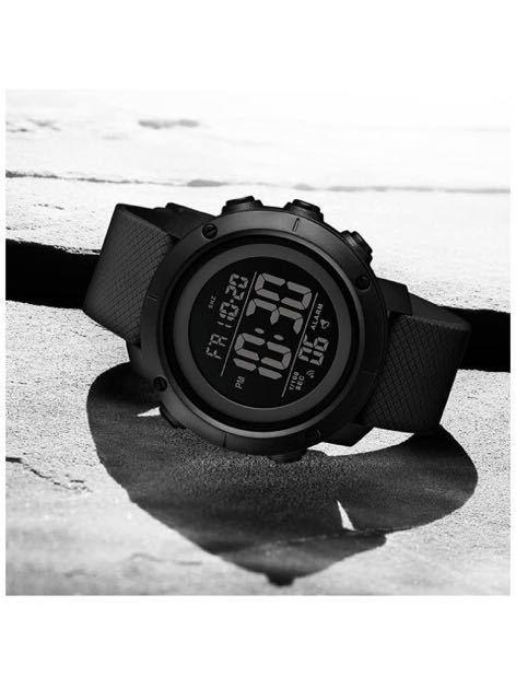 腕時計 メンズ デジタル スポーツ 50メートル防水 おしゃれ 多機能 LED表示 アウトドア 腕時計_画像7