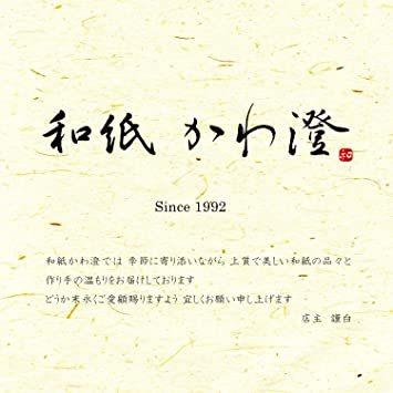 奉書紙 白 【Amazon.co.jp 限定】和紙かわ澄 ご朱印 書き置き和紙 越前和紙 奉書紙 白 10.5×15_画像7