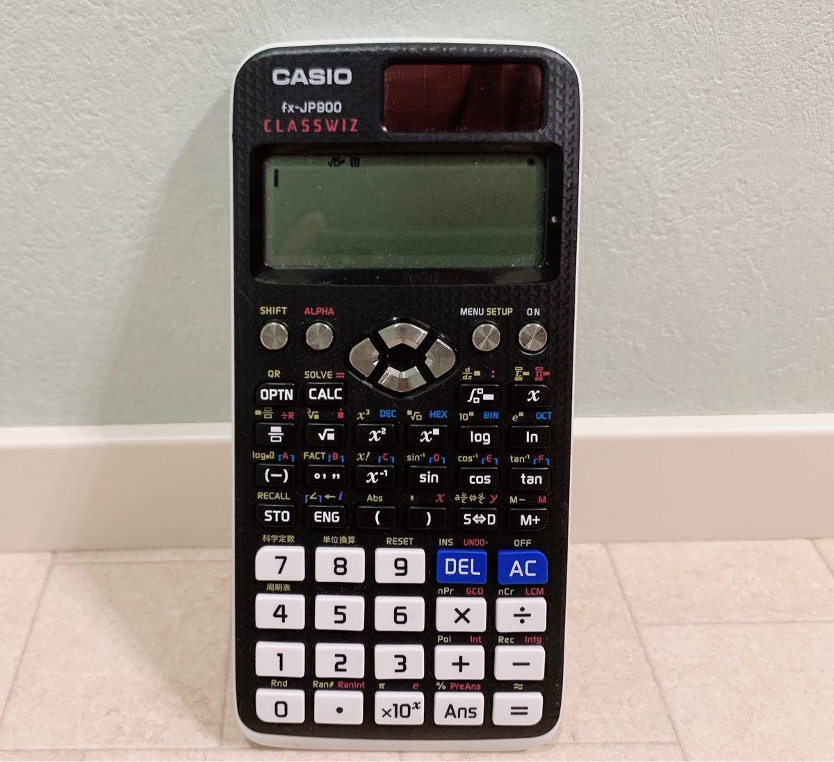 美品 CASIO 関数電卓 fx-JP900 カシオ