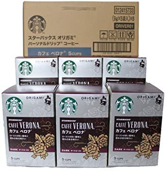 スターバックス オリガミドリップコーヒー カフェベロナ 6個_画像1