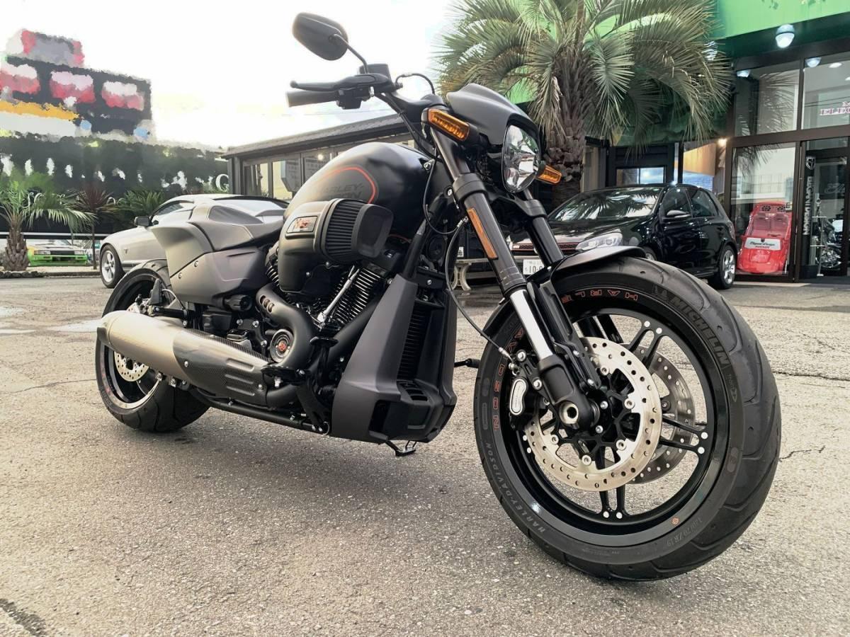 「FXDR114 2019年モデル スクリーミンイーグルチタンマフラー、サンダーバイク テールランプキット、ナンバーステー装備!  」の画像1