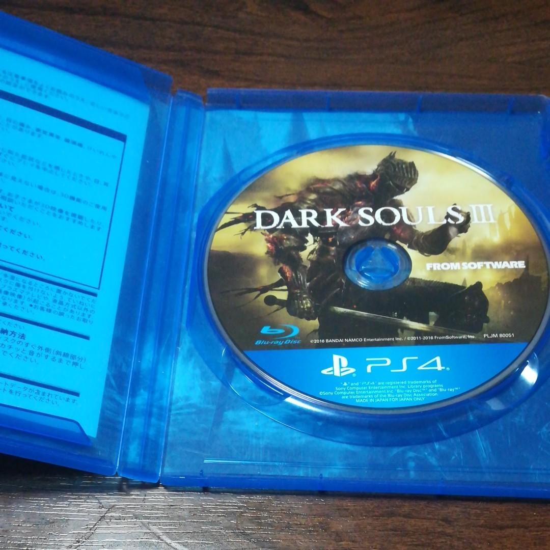 PS4ソフト DARK SOULS Ⅲ