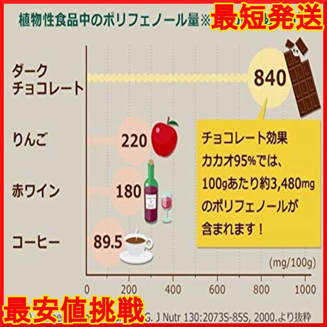 【在庫限り】 800g N6NMT チョコレート効果カカオ95%大容量ボックス 明治_画像5