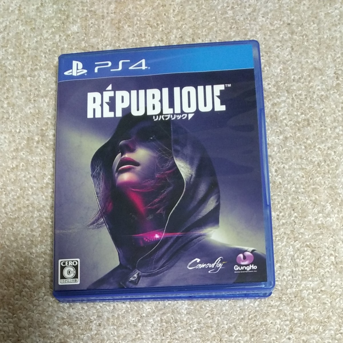 PS4 PS4ソフト REPUBLIOUC? リパブリック