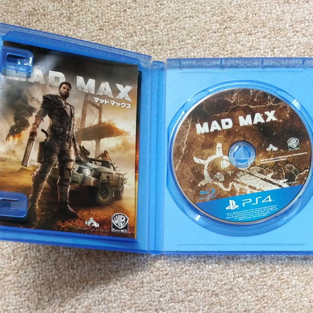 PS4  マッドマックス  PS4ソフト