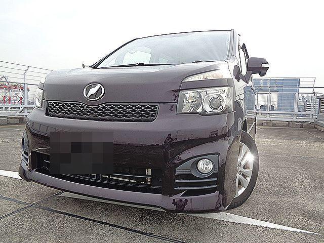 「売切★後期型VOXY ZS 車検2年付(R5/7迄)純正HDDナビ・地デジTV・Bカメ・両側Pスラ」の画像1
