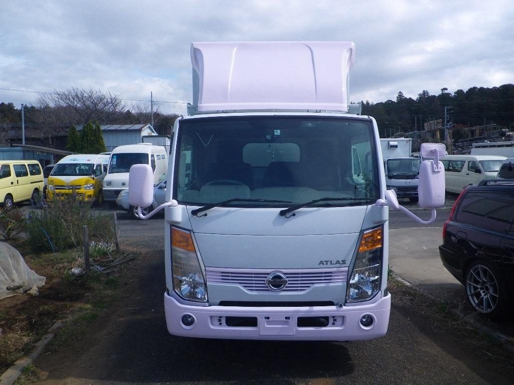 「【くるま☆市場】アトラス 移動販売車 キッチンカー 左右大型開口部http://garageark.com/ HPをご覧ください」の画像3