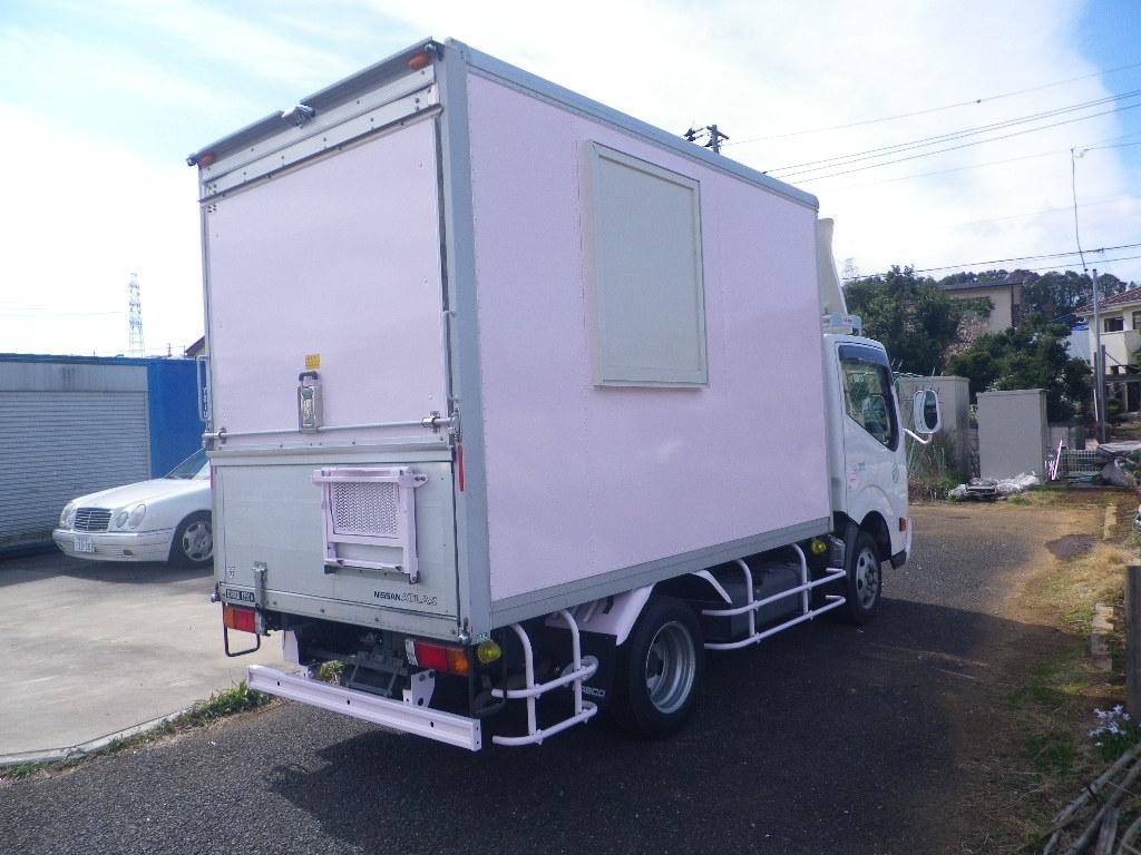 「【くるま☆市場】アトラス 移動販売車 キッチンカー 左右大型開口部http://garageark.com/ HPをご覧ください」の画像2
