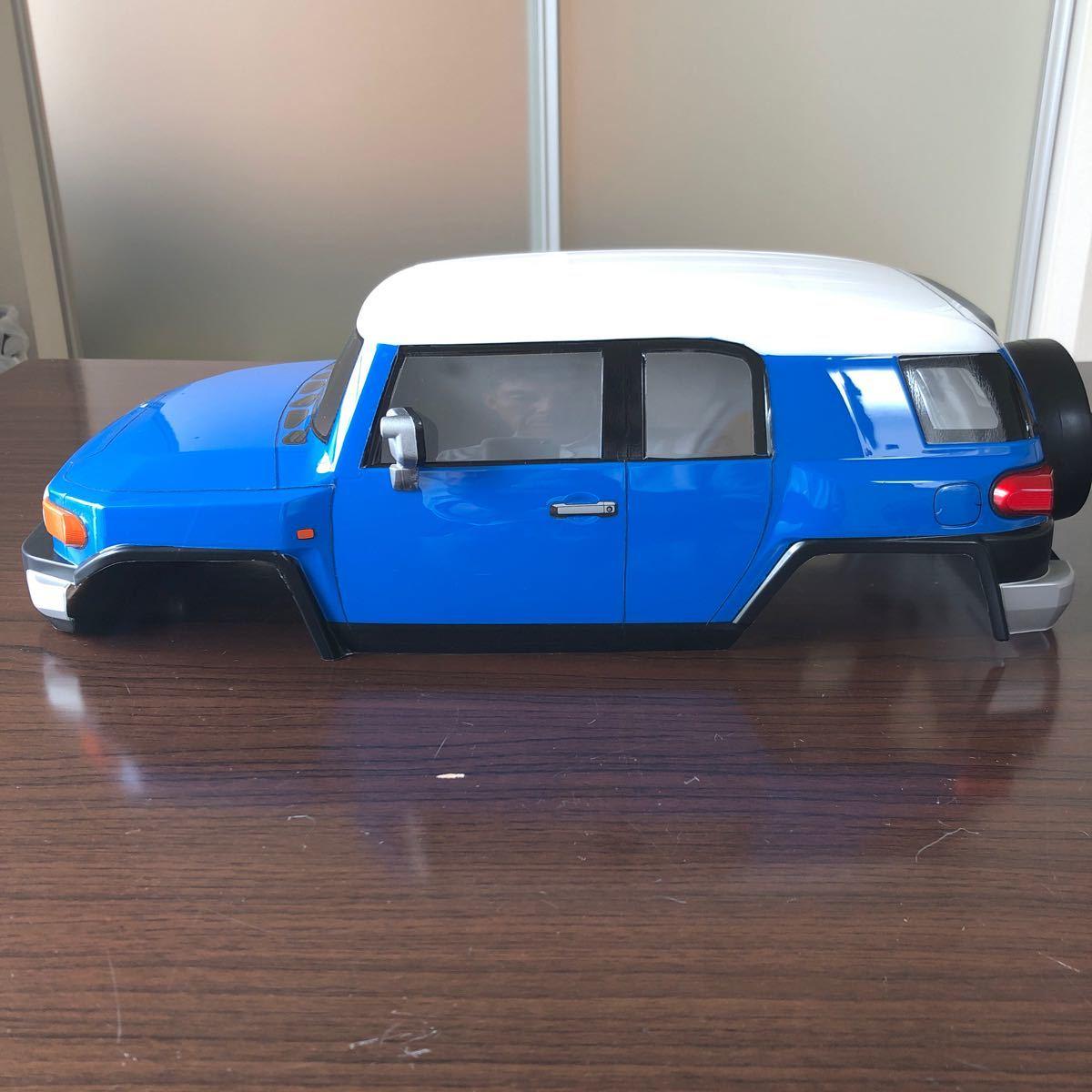 タミヤ トヨタFJクルーザー スペアボディ 塗装済み