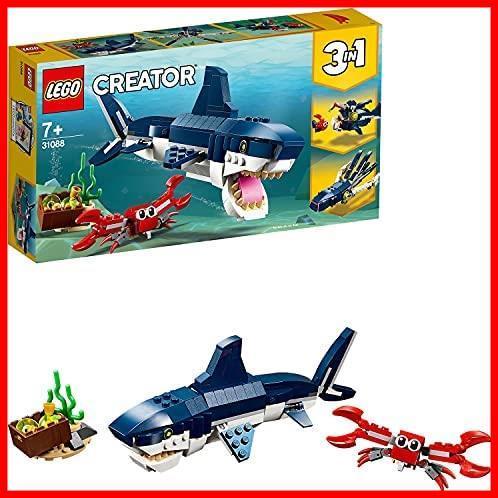 レゴ(LEGO) クリエイター 深海生物 31088 知育玩具 ブロック おもちゃ 女の子 男の子_画像1