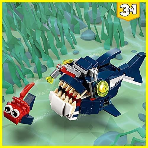レゴ(LEGO) クリエイター 深海生物 31088 知育玩具 ブロック おもちゃ 女の子 男の子_画像4