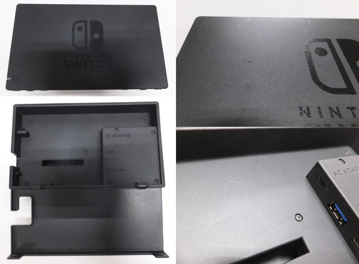 【簡易動作確認済】Nintendo Switch 旧型 本体 (ニンテンドースイッチ) Joy-Con(L)ネオンブルー/ (R) ネオンレッド ②_画像6