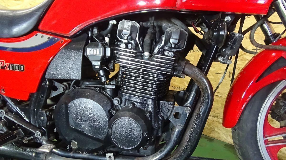 「【ローン可】KAWASAKI GPZ1100 ZX1100-A1 1983年 昭和58年 旧車 希少 カワサキ KZT00BE」の画像2