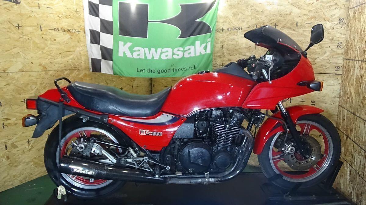 「【ローン可】KAWASAKI GPZ1100 ZX1100-A1 1983年 昭和58年 旧車 希少 カワサキ KZT00BE」の画像1