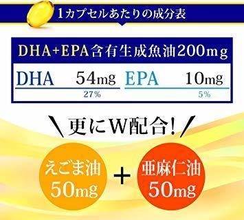 新品約3ヶ月分 シードコムス 亜麻仁油 エゴマ油配合 DHA+EPA サプリメント 約3ヶ月分 90粒 青魚 美容 TBH5_画像3