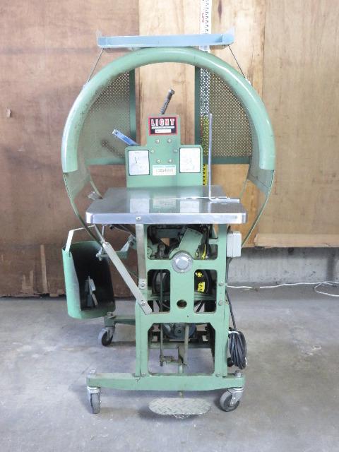 日本包装機械 自動紐結束機 LIGHT 15-3P 紐掛機 梱包機 動作良好 ハ6886 _画像2