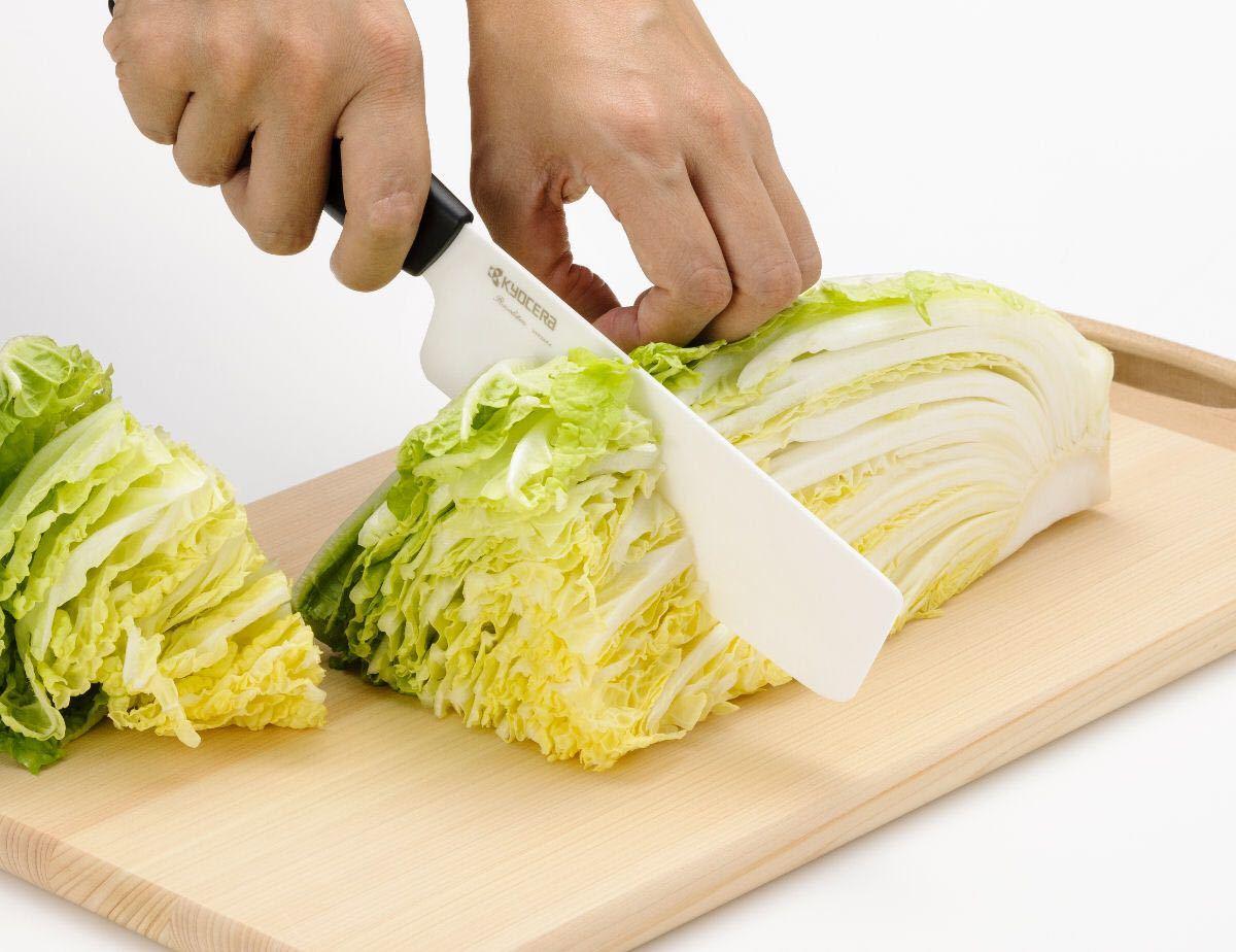 京セラ セラミックナイフRモデル 菜切りナイフ 15cm FKR-150NK-N KYOCERA セラミック包丁 セラミックナイフ