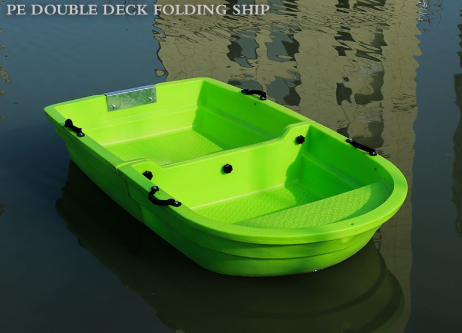 「2分割ボート 2.2メートル フィッシングボート 船外機可 車載 釣り 未使用 ゴムボート」の画像1