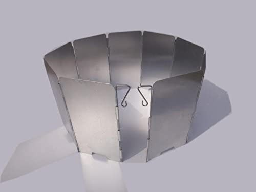 ウインドスクリーン 135×650mm 9枚 防風 風避け 風除け コンロ