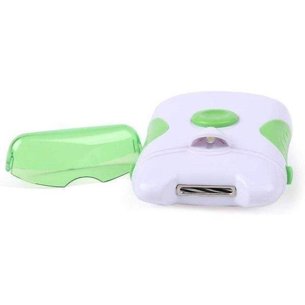 電動爪切り LEDライト スターターキット やすり