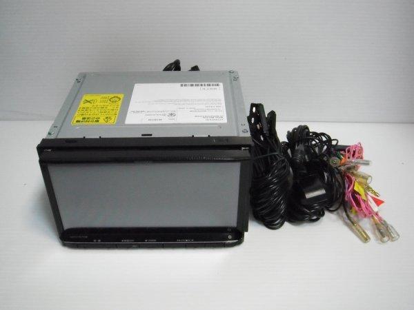 ■ケンウッド MDV-S706 彩速 メモリーナビ ハイレゾ対応 地デジ フルセグ Bluetooth DVD SD録音 USB iPod 2019年 中古実走確認済_画像1