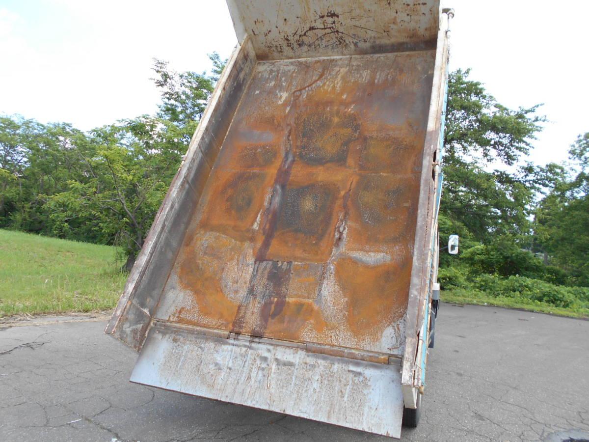 「車検アリ 平成9年 日産UD コンドル Lゲートダンプ 電動コボレーン付き 115,700km 積載3,800㎏ 現状渡し  引取り限定」の画像3