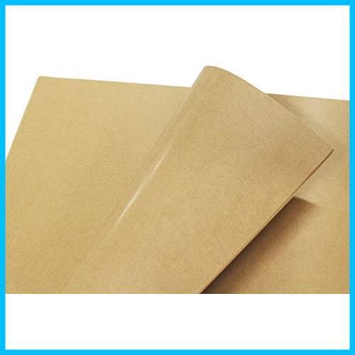 ★SALE★ラッピング 包装紙 片面ツヤ加工 MJAKAA クラフト紙 100枚 フジパック_画像1
