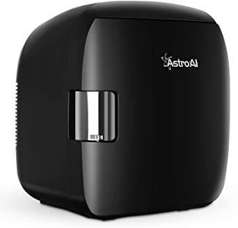 ブラック AstroAI 冷蔵庫 小型 ミニ冷蔵庫 小型冷蔵庫 車載冷蔵庫 冷温庫 9L 化粧品 小型でポータブル 家庭 車載 _画像9