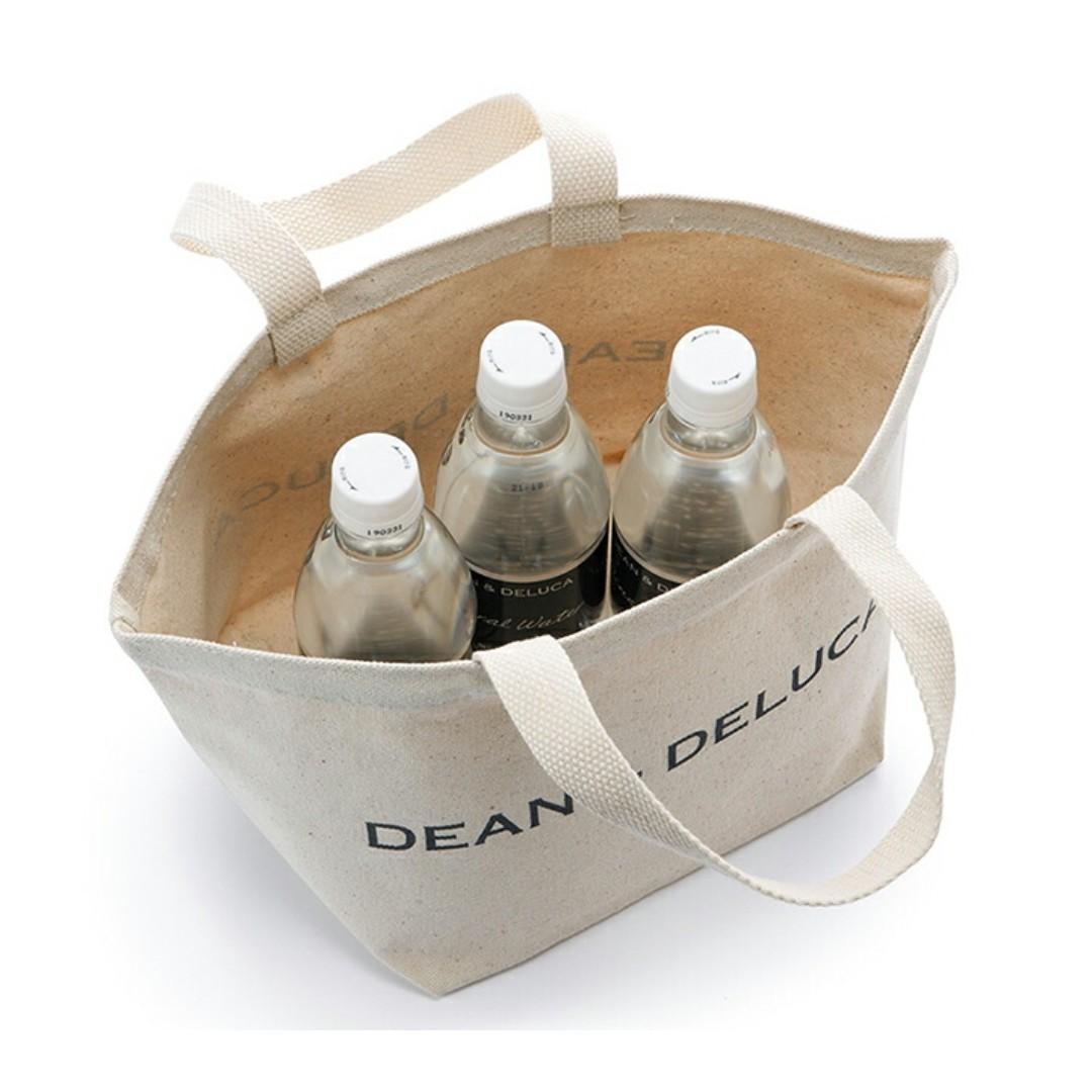 DEAN&DELUCA ディーンアンドデルーカトートバッグS  ショッピングバッグ 2点セット