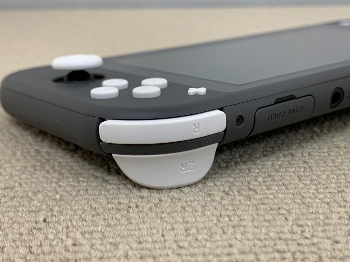 中古品 任天堂 Nintendo Switch Lite 本体 ニンテンドー スイッチ ライト 本体 グレー_画像4