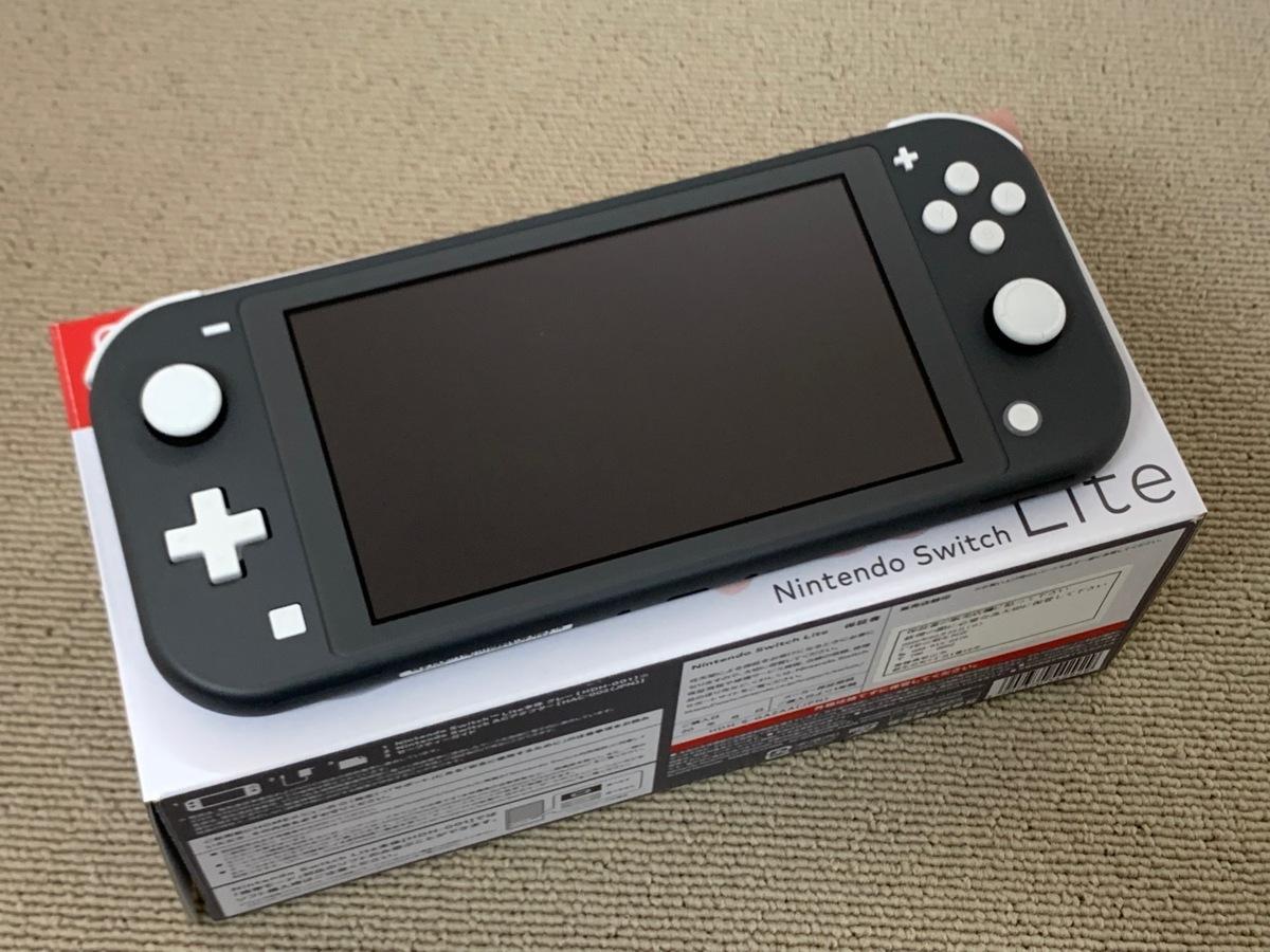 中古品 任天堂 Nintendo Switch Lite 本体 ニンテンドー スイッチ ライト 本体 グレー_画像1