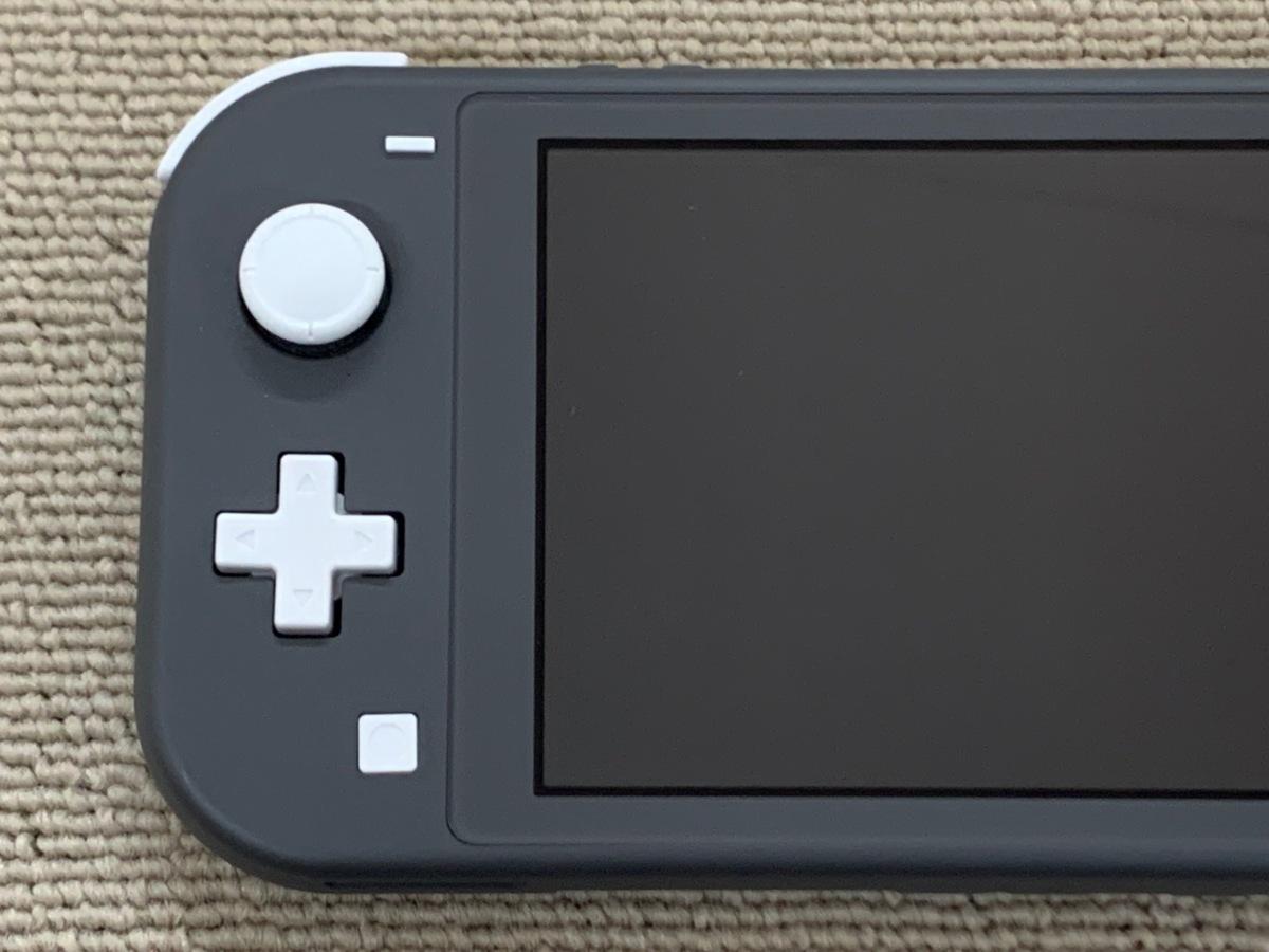中古品 任天堂 Nintendo Switch Lite 本体 ニンテンドー スイッチ ライト 本体 グレー_画像8