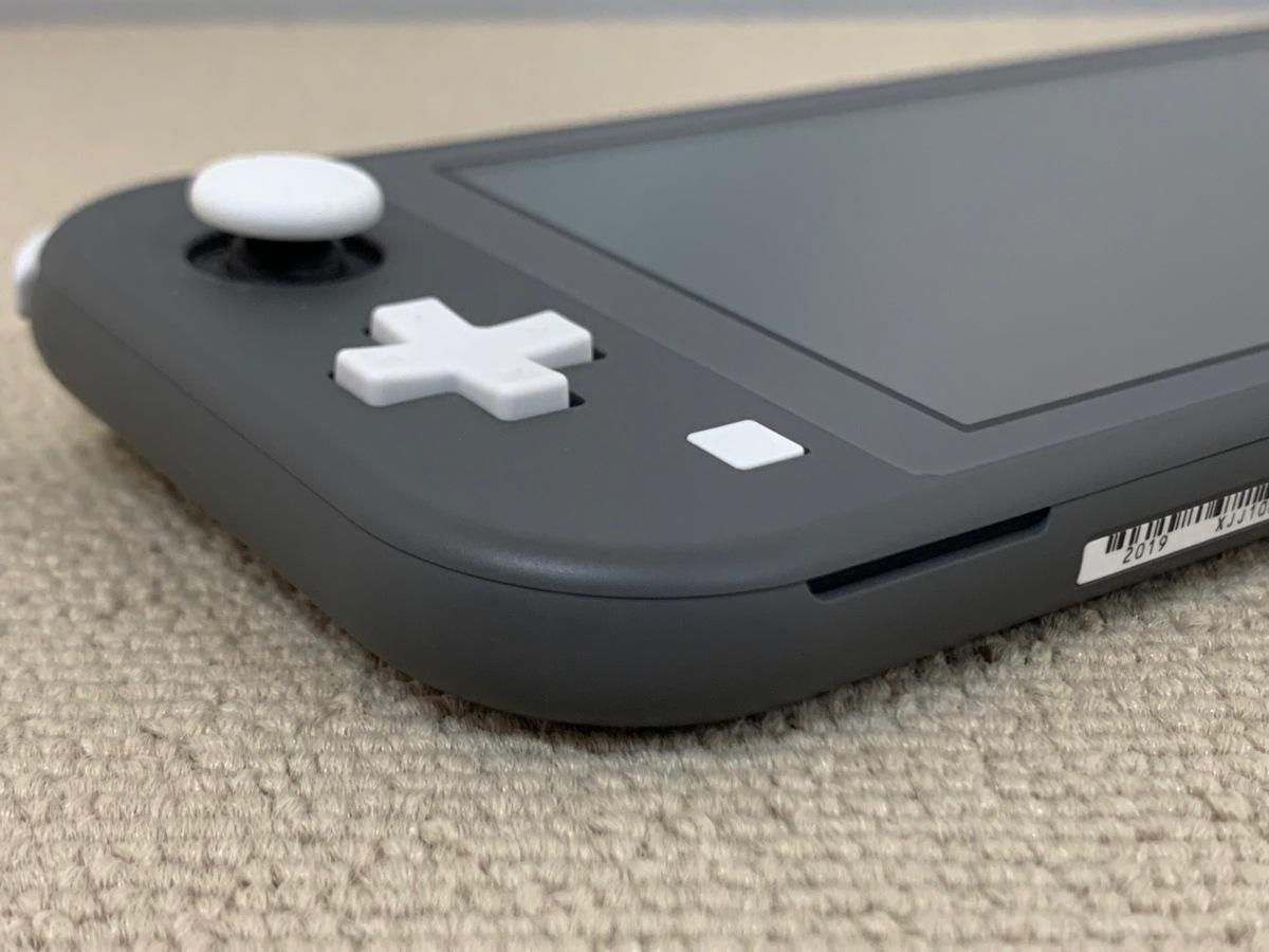 中古品 任天堂 Nintendo Switch Lite 本体 ニンテンドー スイッチ ライト 本体 グレー_画像3