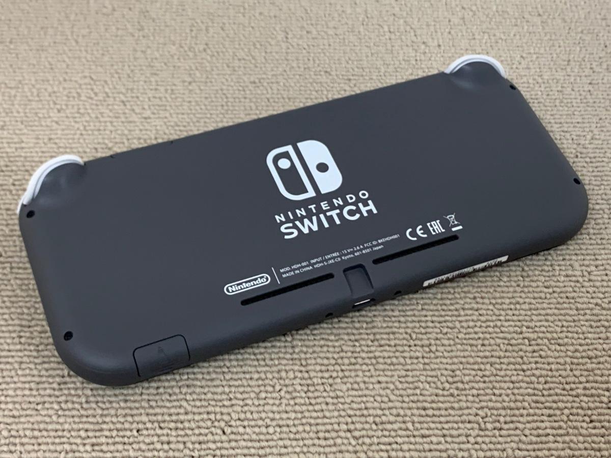 中古品 任天堂 Nintendo Switch Lite 本体 ニンテンドー スイッチ ライト 本体 グレー_画像2