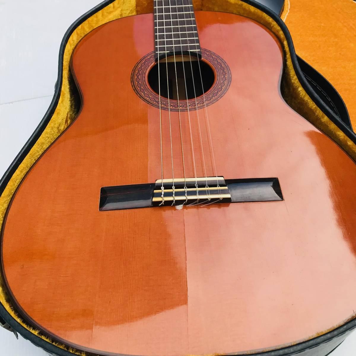 RYOJI MATSUOKA 松岡良治 ギター LUTHIER NO.25 1972年 NAGOYA JAPON クラシックギター ハードケース付【現状品】_画像3