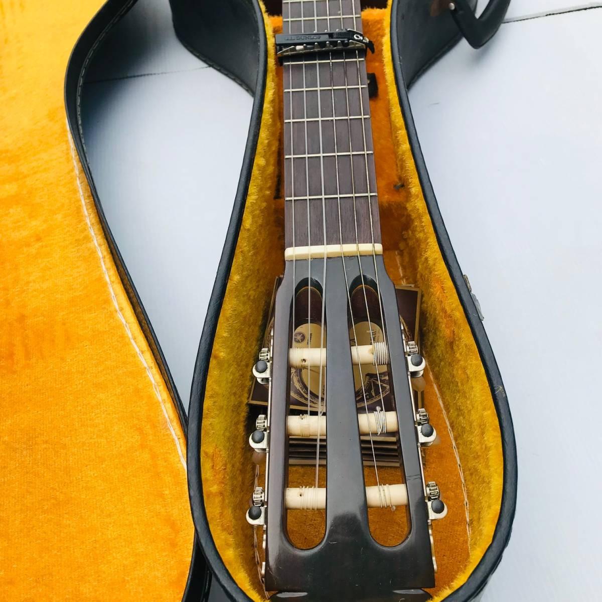 RYOJI MATSUOKA 松岡良治 ギター LUTHIER NO.25 1972年 NAGOYA JAPON クラシックギター ハードケース付【現状品】_画像5